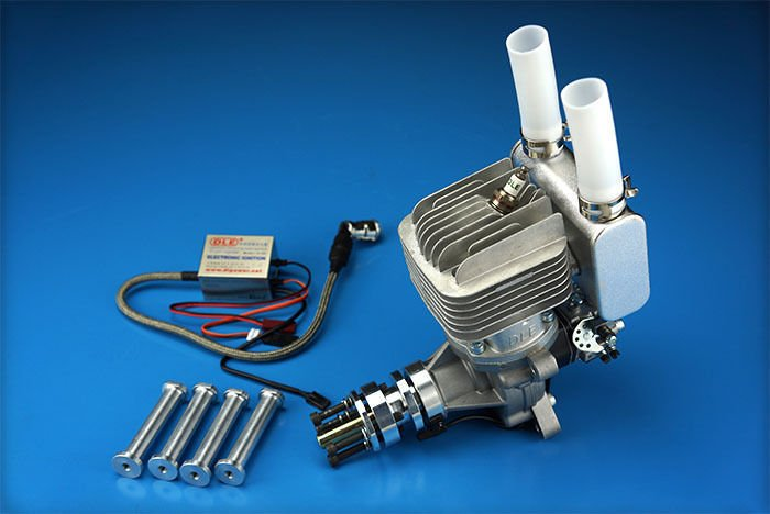 Image 1 of DLE 55RA Rear carb and Rear Exhaust gasoline aircraft engine