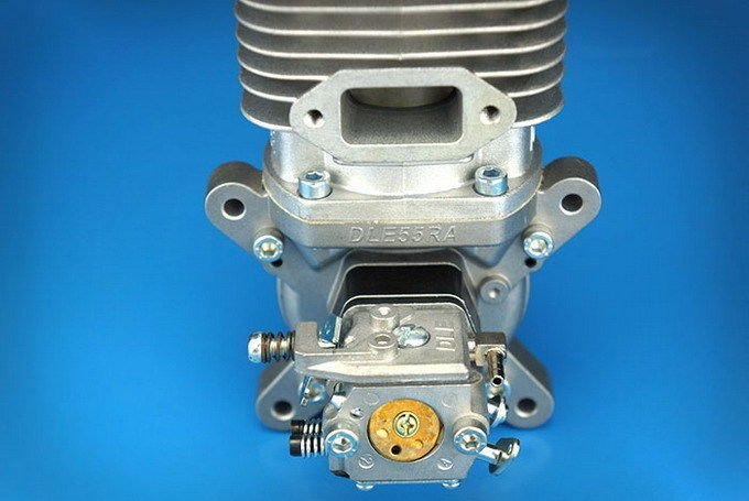 Image 3 of DLE 55RA Rear carb and Rear Exhaust gasoline aircraft engine