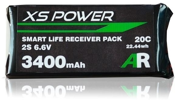 Image 0 of Booma XS Power 3400mAh LiFE Smart Balance Receiver Pack with EC3