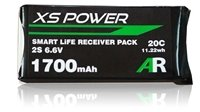 Image 0 of Booma XS Power 1700mAh LiFE Smart Balanced Receiver Pack Deans/Ultra