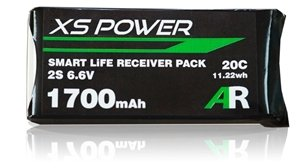 Image 0 of Booma XS Power 1700mAh LiFE Smart Balanced Receiver Pack EC3