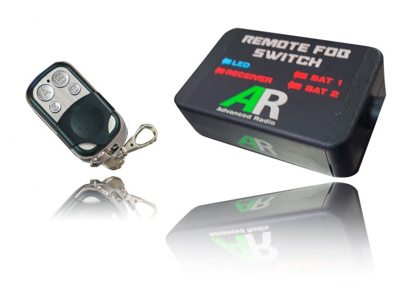 Image 0 of Booma RC Remote FOB Switch Ultra In JR Out