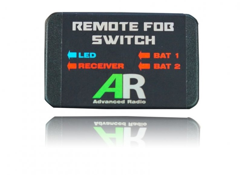 Image 1 of Booma RC Remote FOB Switch Ultra In JR Out