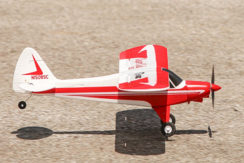 Image 2 of Super Cub 750 RTF 4-Channel Aircraft