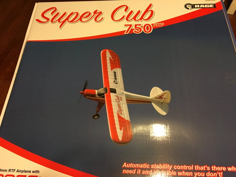 Image 3 of Super Cub 750 RTF 4-Channel Aircraft