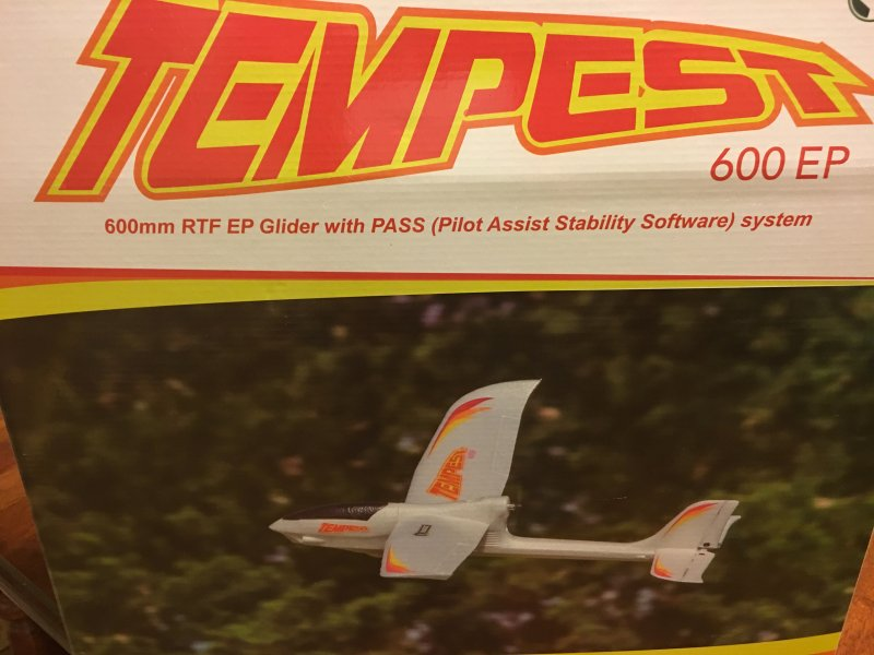 Image 3 of Rage Tempest 600 EP RTF Aircraft