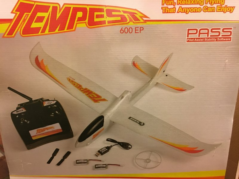 Image 4 of Rage Tempest 600 EP RTF Aircraft