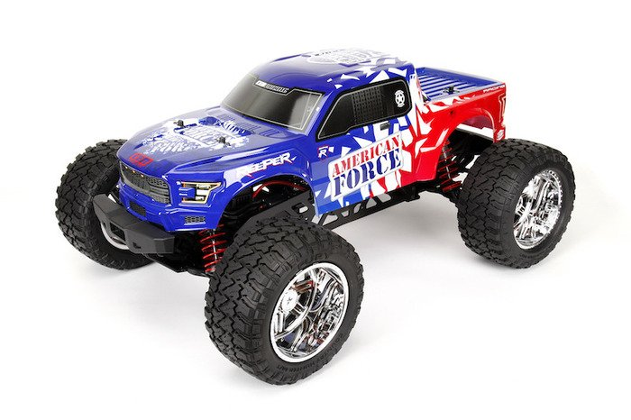 Image 3 of Reeper American Force Edition Mega Monster Truck 1/7 RTR, Brushless w/ Hobbywing