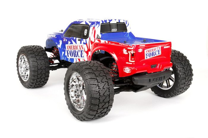 Image 4 of Reeper American Force Edition Mega Monster Truck 1/7 RTR, Brushless w/ Hobbywing