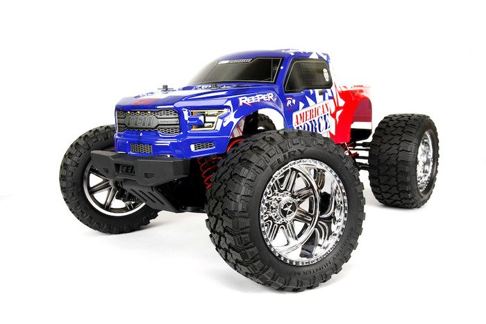Image 5 of Reeper American Force Edition Mega Monster Truck 1/7 RTR, Brushless w/ Hobbywing