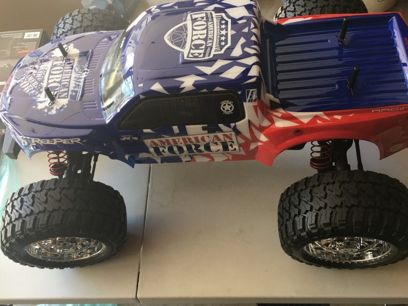 Image 2 of Reeper American Force Edition Mega Monster Truck 1/7 RTR, Brushless w/ Hobbywing