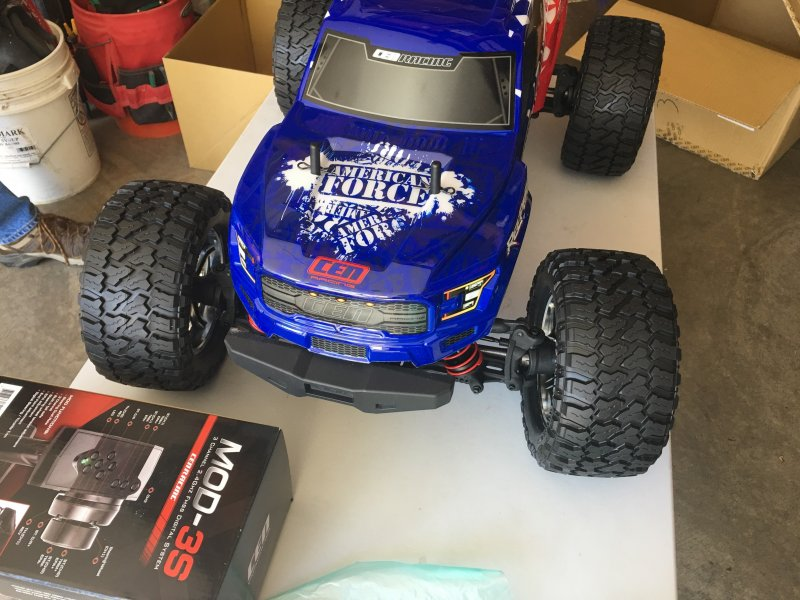 Image 1 of Reeper American Force Edition Mega Monster Truck 1/7 RTR, Brushless w/ Hobbywing