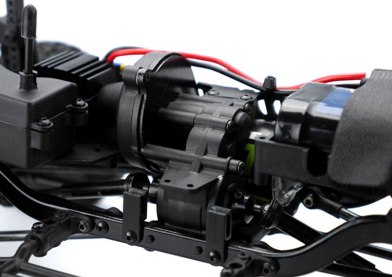 Image 3 of Carisma SCA-1E 1/10 Scale Lynx 4WD Scaler, RTR (285mm Wheelbase)