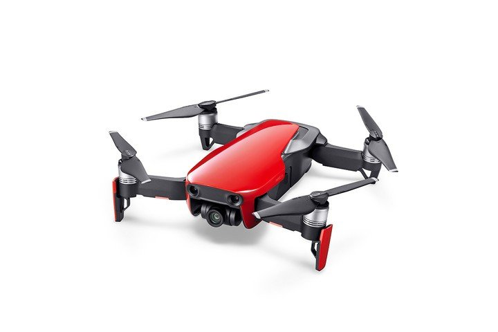 Image 0 of DJI Mavic Air - Ultraportable 4K Quadcopter - Fly More Combo - Flame Red
