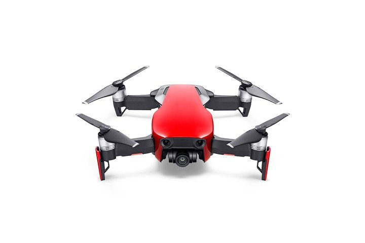 Image 1 of DJI Mavic Air - Ultraportable 4K Quadcopter - Fly More Combo - Flame Red