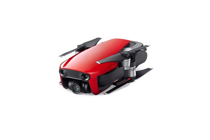 Image 2 of DJI Mavic Air - Ultraportable 4K Quadcopter - Fly More Combo - Flame Red