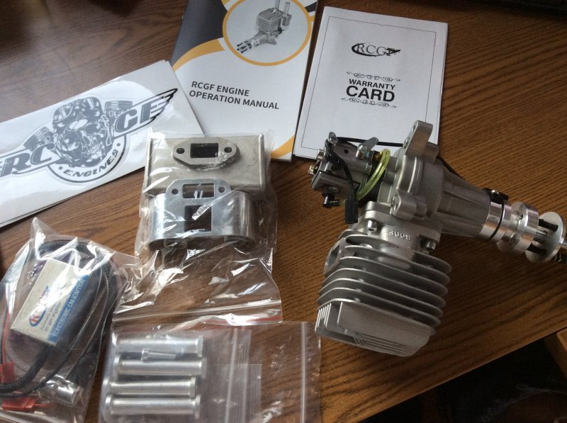 Image 8 of RCGF 60cc RE Rear exhaust NEW to RCGF extensive lineup of engines