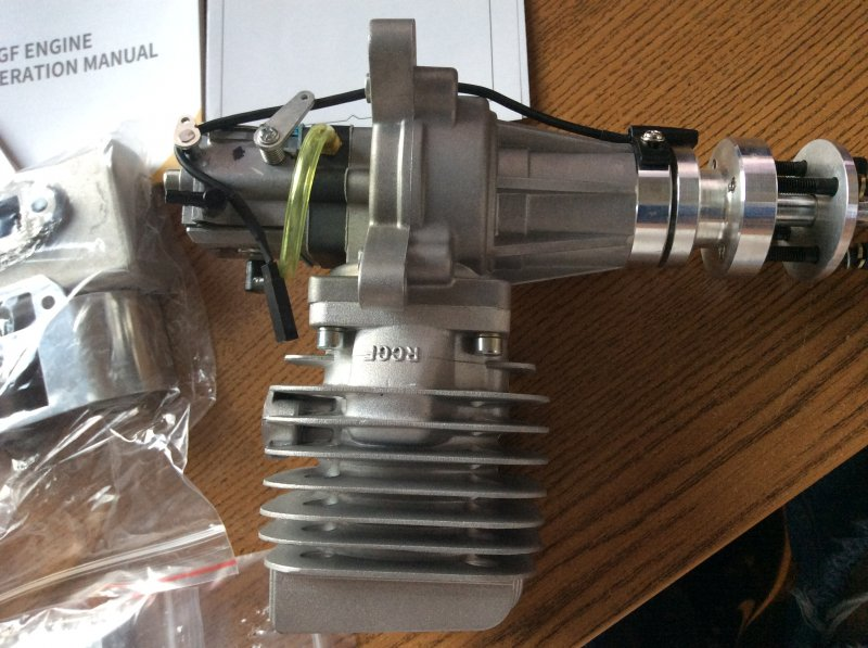 Image 7 of RCGF 60cc RE Rear exhaust NEW to RCGF extensive lineup of engines