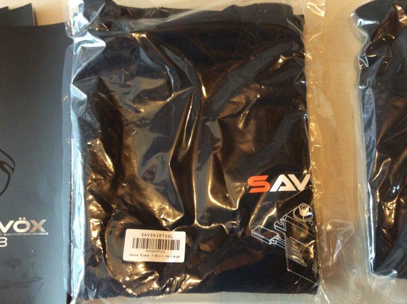 Image 1 of Savox Black T-Shirt XX-Large
