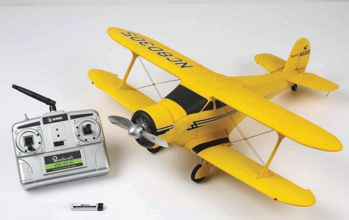 Image 0 of Beechcraft Model 17 Staggerwing Micro RTF