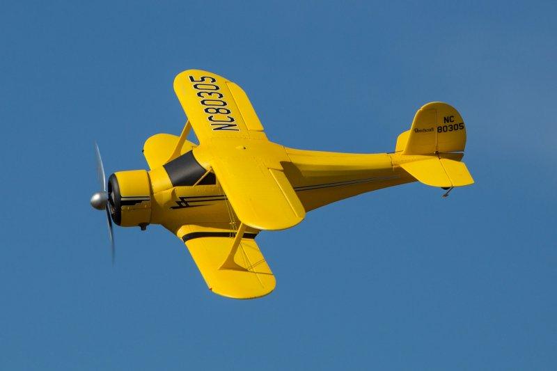 Image 4 of Beechcraft Model 17 Staggerwing Micro RTF