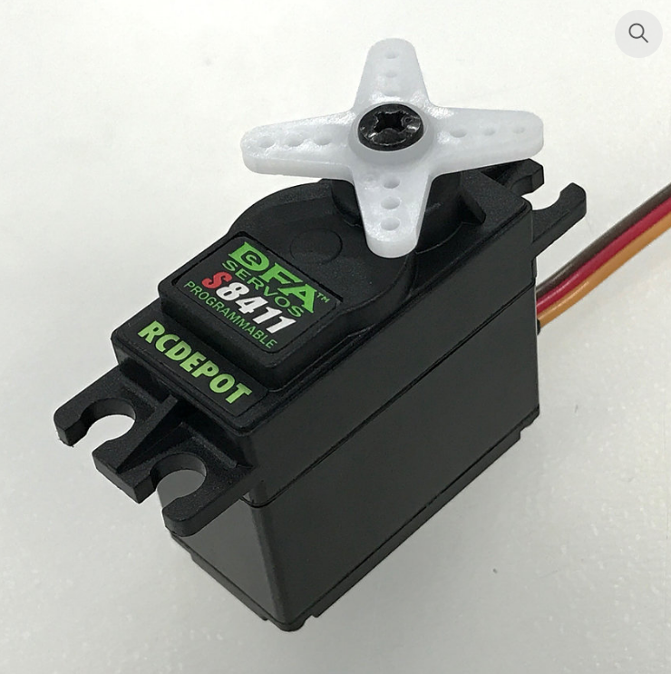 Image 0 of JR/DFA S8411 programmable servo