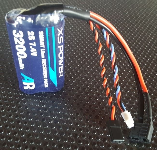 Image 1 of Booma XS POWER 3200 mAh (2x1 cell) pack with self balancing circuit.