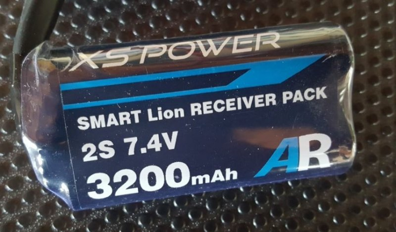Image 2 of Booma XS POWER 3200 mAh (2x1 cell) pack with self balancing circuit.