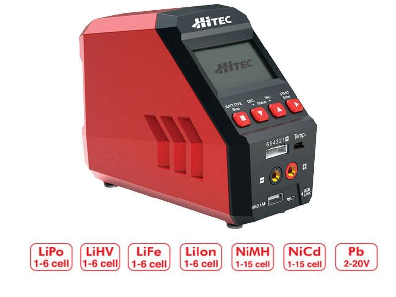 Image 0 of Hitec RDX1 Pro AC/DC Battery Charger/Discharger