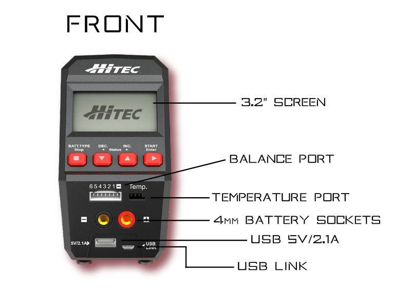 Image 3 of Hitec RDX1 Pro AC/DC Battery Charger/Discharger