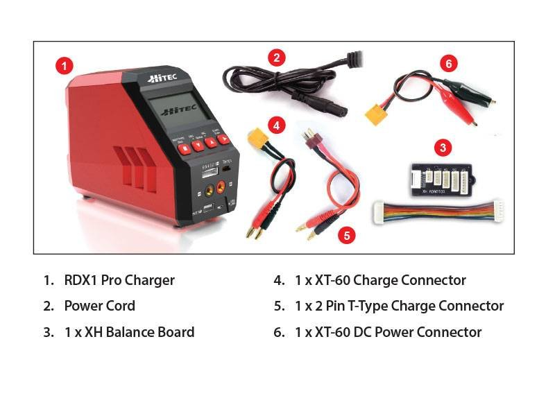 Image 4 of Hitec RDX1 Pro AC/DC Battery Charger/Discharger