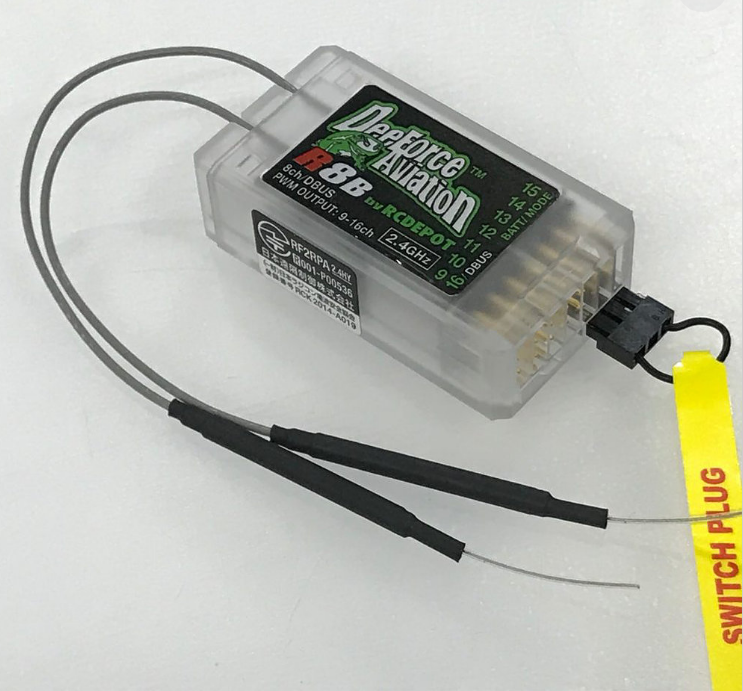 Image 1 of JR/DFA RG812BPX (R8P) POWER RECEIVER