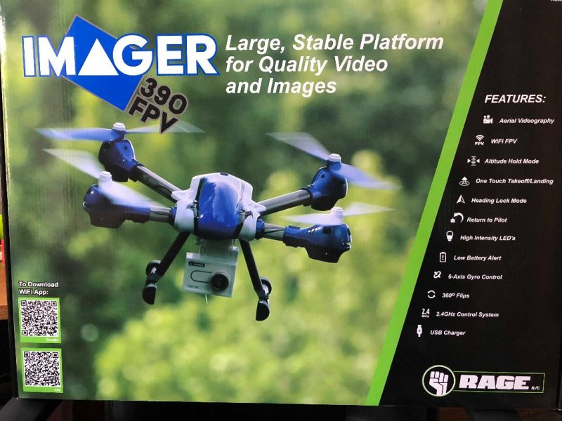 Image 5 of Rage Imager 390 FPV RTF Drone New Years special