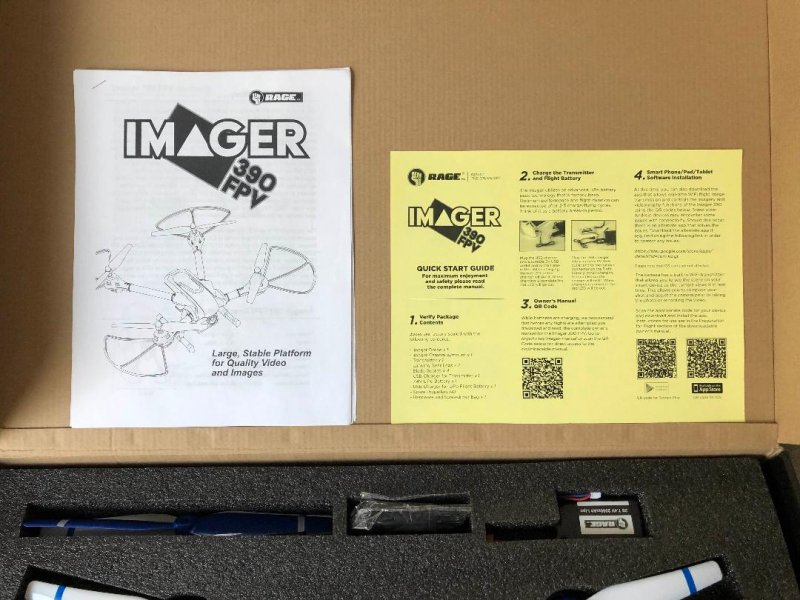Image 11 of Rage Imager 390 FPV RTF Drone New Years special