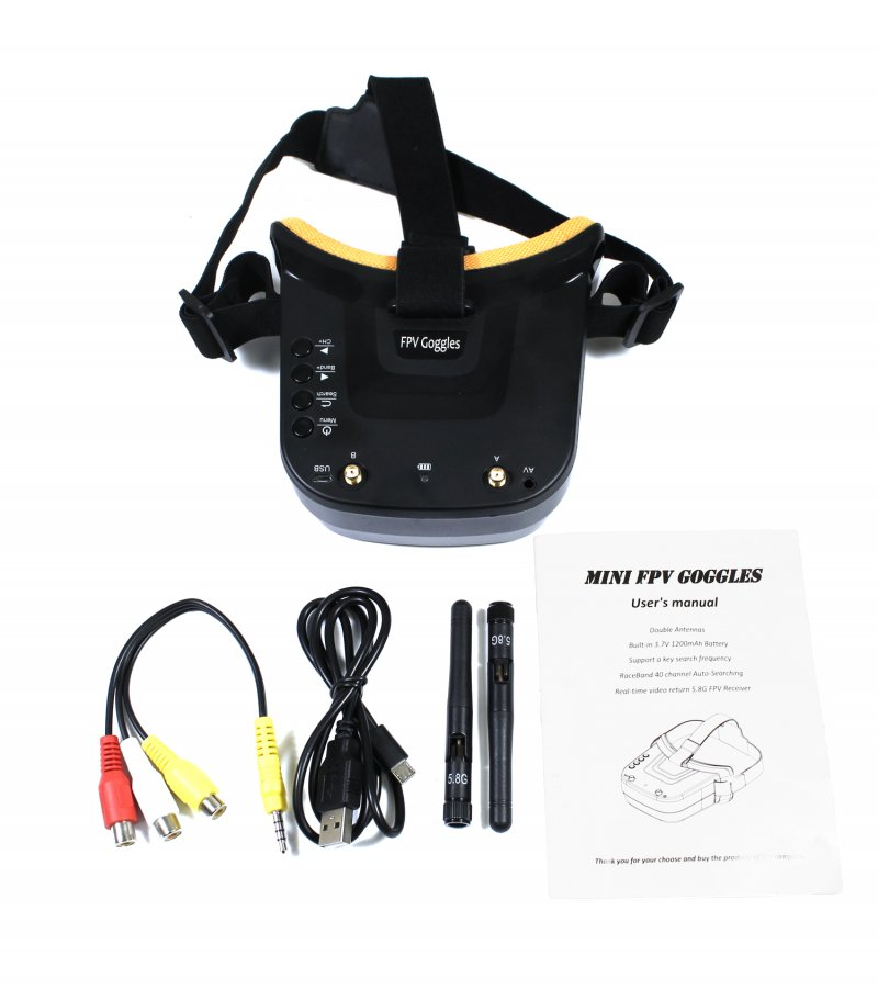 Image 1 of Universal 5.8GHz FPV Goggles