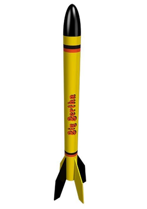 Image 0 of Este's Big Bertha Model Rocket Kit, Skill Level 1