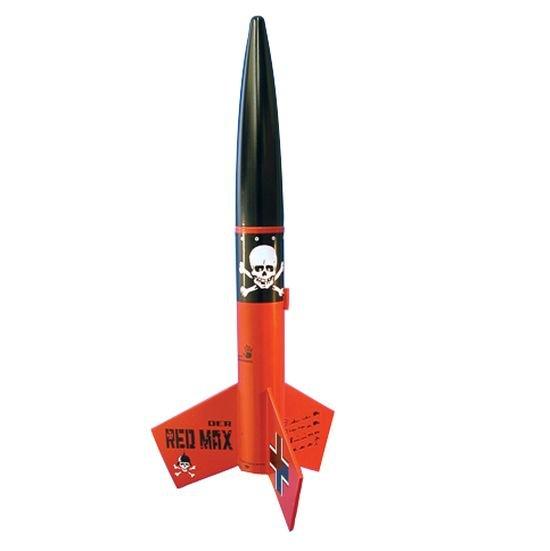 Image 0 of Este's Der Red Max Rocket Kit, Skill Level 1