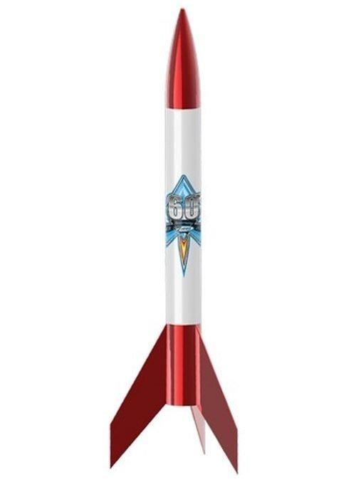 Image 0 of Este's Alpha VI Estes 60th Anniversary Model Rocket Kit, E2X