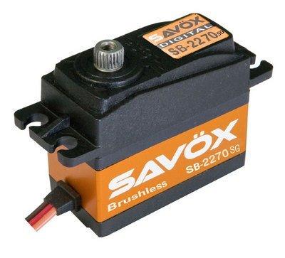 Image 2 of Savox 2270SG Monster Torque Brushless FREE shirt