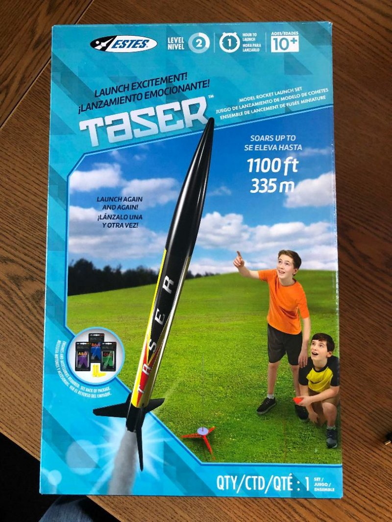 Image 1 of Este's Taser Rocket Launch Set, E2X