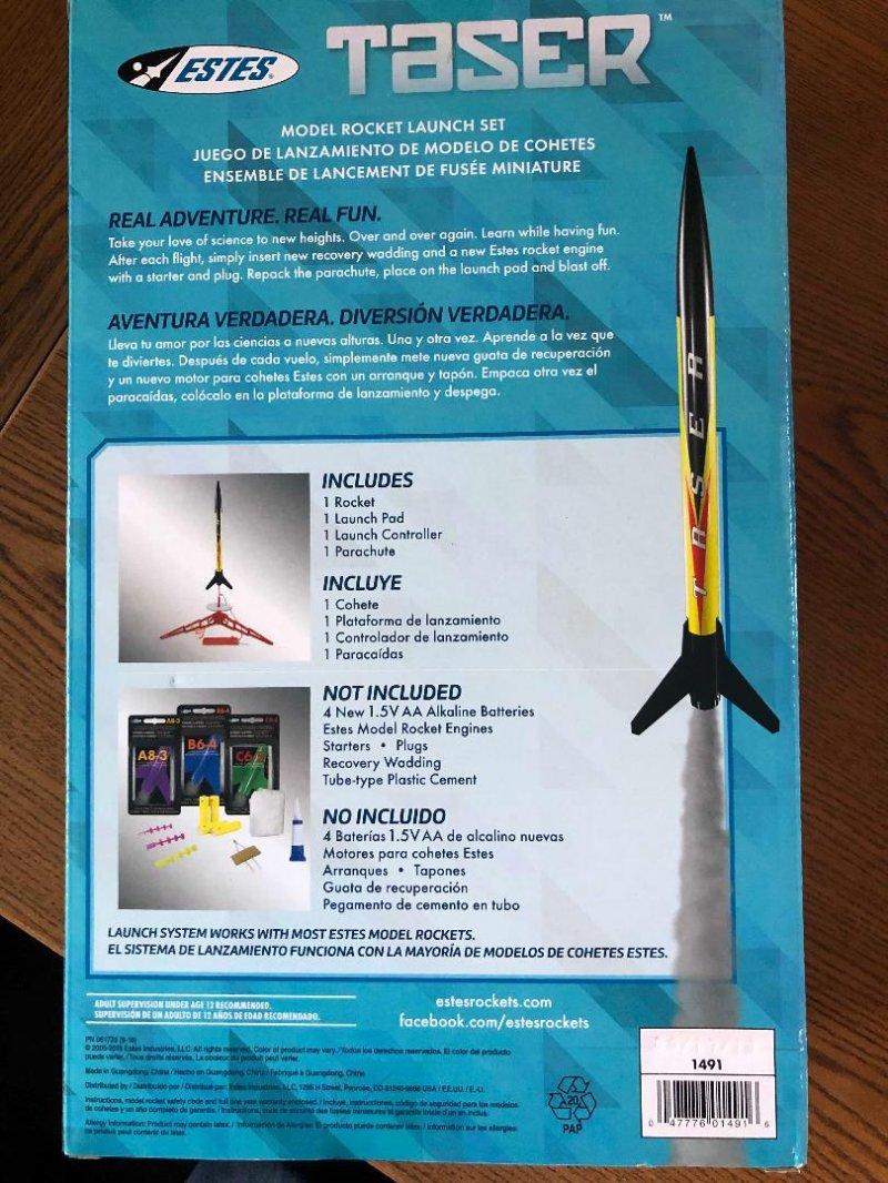 Image 2 of Este's Taser Rocket Launch Set, E2X