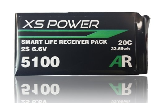 Image 0 of Booma XS Power 5100mAh LiFE Smart Balance Receiver Pack with Ultra/Deans