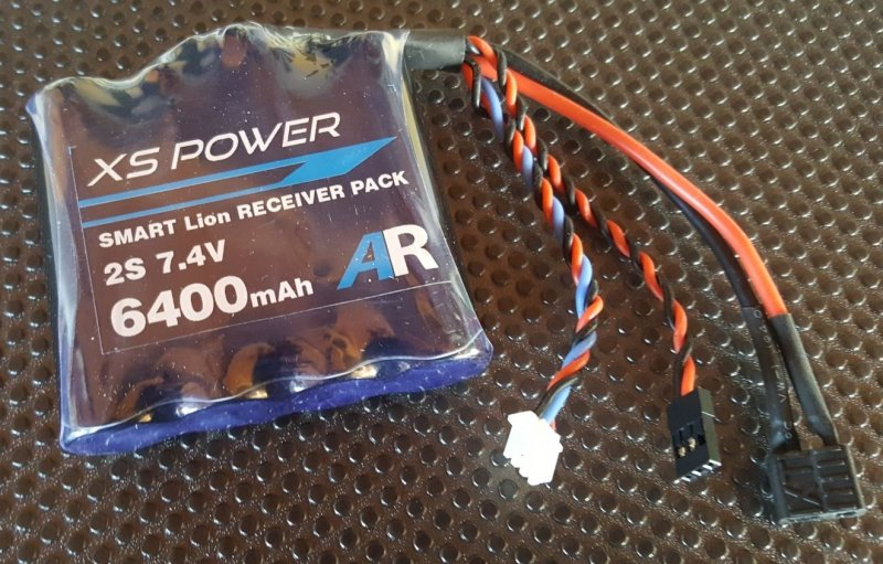 Image 0 of Booma XS POWER 6400 mAh (4x1 cell) pack with self balancing circuit.