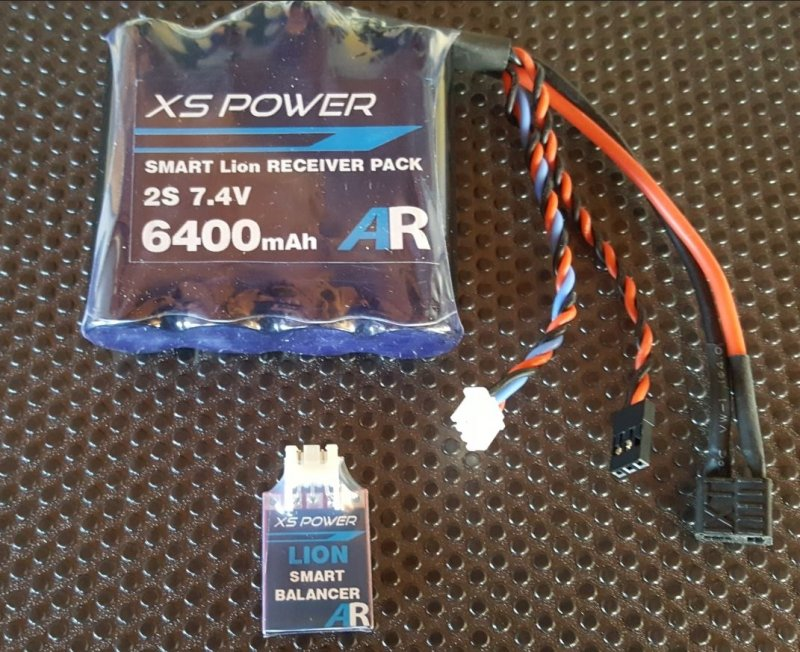 Image 2 of Booma XS POWER 6400 mAh (4x1 cell) pack with self balancing circuit.