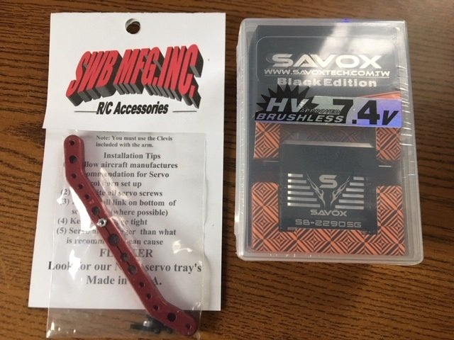Image 0 of SAVOX 2290SG Monster Brushless Servo, Black Edition & FREE SWB 4.5