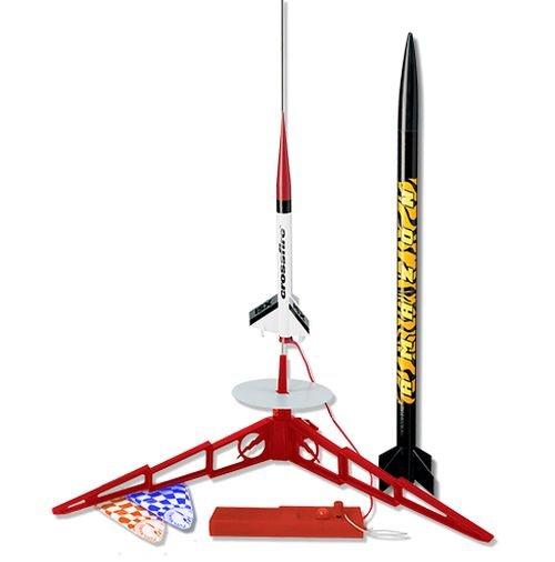 Image 0 of Este's Tandem-X Rocket Launch Set, Amazon (E2X) & Crossfire ISX (Skill Level 1)