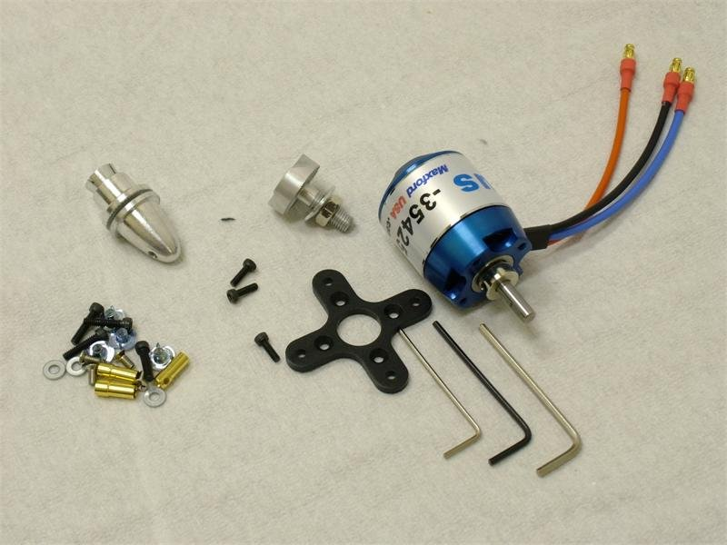 Image 0 of Combo package: motor, esc, prop, lipo battery