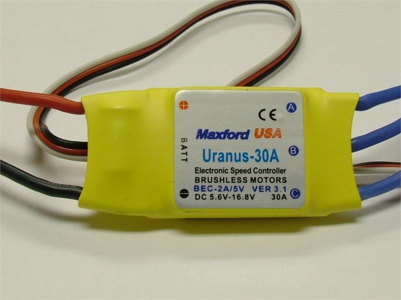 Image 0 of Uranus 30A Brushless Controller ESC