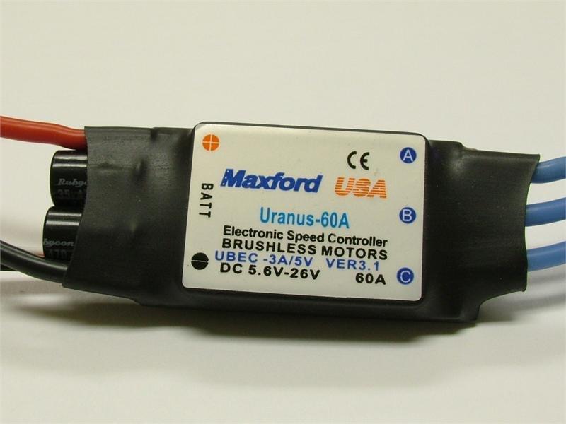 Image 0 of Uranus 60A Brushless Controller ESC