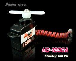 Image 0 of Power H.D 1200A Analog 2gram micro servo